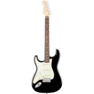 Fender USA American Professional Stratocaster Lefty - Black / Rosewood- | ERNIE BALL4点セット付《エレキギター》|guitarplanet