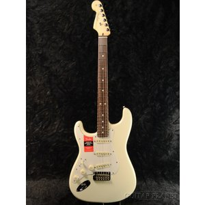 Fender USA American Professional Stratocaster Lefty - Olympic White / Rose- | ERNIE BALL4点セット付《エレキギター》|guitarplanet