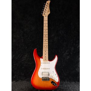 Greco WS-STD SSH Cherry Burst/Maple | ERNIE BALL4点セット付《エレキギター》【クーポン配布中!】|guitarplanet