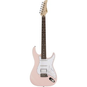Greco WS-STD SSH Light Pink/Rosewood | ERNIE BALL4点セット付《エレキギター》【クーポン配布中!】|guitarplanet