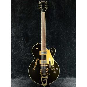 Gretsch G5655TG Electromatic Center Block Jr. Single-Cut with Bigsby Black Gold 《エレキギター》|guitarplanet