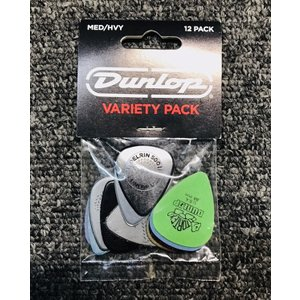Jim Dunlop VARIETY PACK MEDIUM/HEAVY PVP102【12枚入り】|guitarplanet