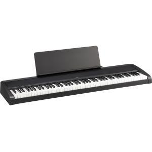 KORG B2 -Black- Digital Piano 《ダンパーペダル&譜面立て付き!!》  88鍵盤デジタルピアノ|guitarplanet