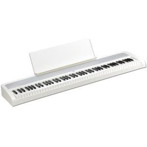 KORG B2 -White- Digital Piano 《ダンパーペダル&譜面立て付き!!》  88鍵盤デジタルピアノ|guitarplanet