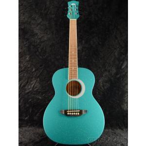 Luna Guitars Aurora Borealis 3/4 Guitar Teal Green Pearl  《アコギ》|guitarplanet