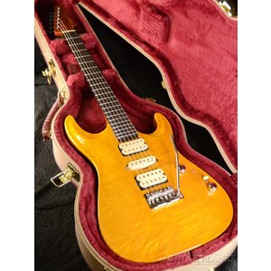 Marchione Set Neck Carve Top -Trans Amber-《エレキギター》|guitarplanet
