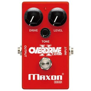 MAXON OD808X Overdrive Extreme 《エフェクター》|guitarplanet