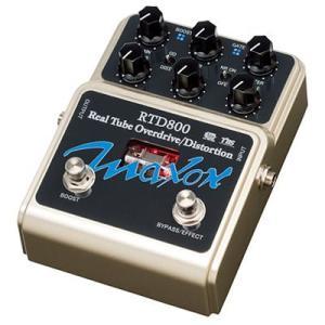 Maxon RTD800 Real Tube Overdrive/Distortion 《エフェクター》|guitarplanet