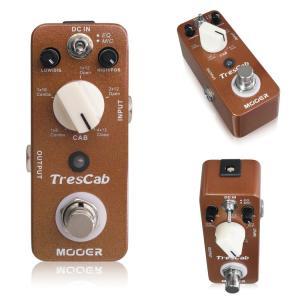 MOOER TresCab  デジタルキャビネットシミュレーター 《エフェクター》【クーポン配布中!】|guitarplanet