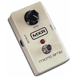 MXR micro amp M-133 クリーンブースター 《エフェクター》【クーポン配布中!】|guitarplanet