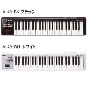 Roland A-49 49鍵盤MIDIキーボード|guitarplanet