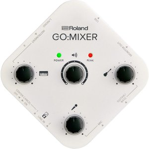 Roland GO:MIXER Audio Mixer|guitarplanet
