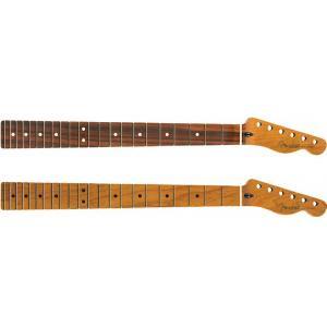 Fender Roasted Maple Telecaster Neck -Jumbo Frets / Flat Oval Shape-│ リプレイスメントパーツ|guitarplanet