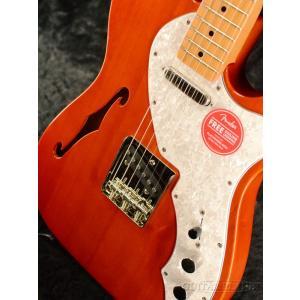 Squier Classic Vibe '60s Telecaster Thinline -Natural / Maple- ナチュラル《エレキギター》|guitarplanet|06