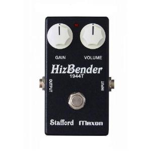 Stafford × MAXON HizBender ディストーション/ブースター 《エフェクター》|guitarplanet