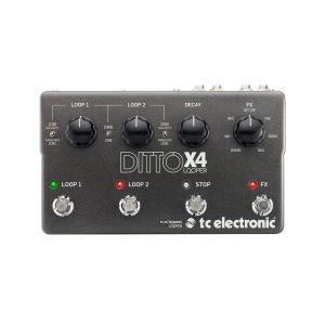 t.c.electronic Ditto X4 Looper ルーパー