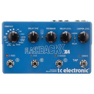 t.c.electronic Flashback X4 ディレイ 《エフェクター》|guitarplanet