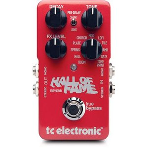 t.c.electronic Hall Of Fame リバーブ