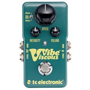 t.c.electronic Viscous Vibe ヴィブラート/モジュレーション 《エフェクター》|guitarplanet