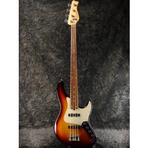 Valenti V24-J4 -3 Tone Sunburst-【Nordstrand P.U/Aguilar OBP-2】【中古】《ベース》|guitarplanet