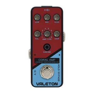 VALETON CORAL AMP アンプシミュレーター 《エフェクター》 guitarplanet