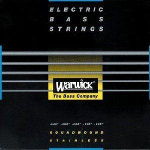 Warwick 45-135 #40301 Black Label Stainlass Steel Medium Low B 5弦セット guitarplanet