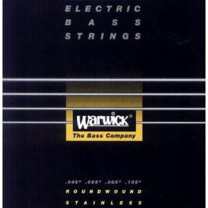 Warwick 45-105 #40200 Black Label Stainlass Steel Medium guitarplanet
