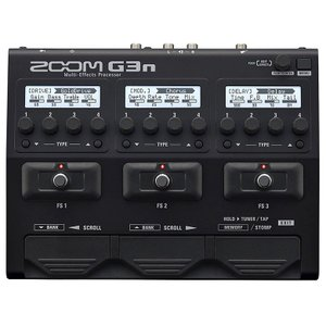 ZOOM G3n Multi-Effects Processor | 純正アダプター付属 《エフェクター》|guitarplanet
