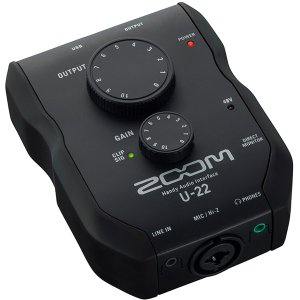ZOOM U-22 Handy Audio Interface オーディオインターフェイス|guitarplanet