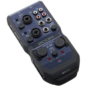 ZOOM U-44 Handy Audio Interface オーディオインターフェイス|guitarplanet