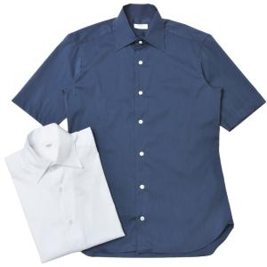 BARBA(バルバ)CULTOクルト ストレッチコットンピンヘッドソリッドS/Sワンピースカラーシャツ I/BSport/6242/U 11001002022 |guji