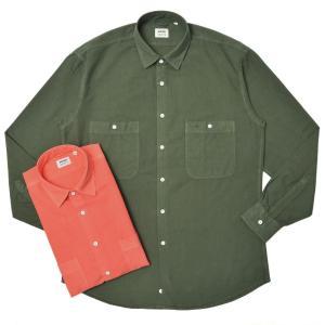 ASPESI(アスペジ)ガーメントダイコットンオックスフォードワークシャツ MOD.C/13921A4311L551T 11015000109 guji