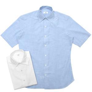 【SALE30】BARBA(バルバ)CULTOクルト コットンエンドオンエンドS/Sワンピースカラーシャツ I/BSport/5802/U 11091000022 guji