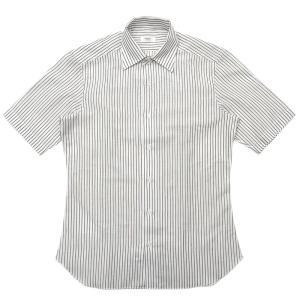 BARBA(バルバ)CULTOクルト コットンエンドオンエンドストライプS/Sワンピースカラーシャツ I/BSport/5720/U 11091001022 guji