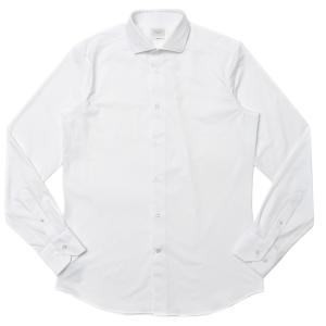 TRAIANO(トライアーノ)ポリエステルナイロンストレッチジャージブロードタッチワイドカラーシャツ ROSSINI RADICAL FIT/TS00/TC18 11102200167|guji