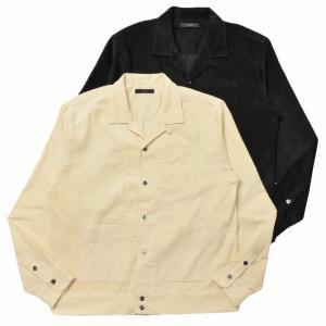 THE GIGI(ザ ジジ)BELL コットンコーデュロイオープンカラーシャツジャケット N701 14002401039|guji