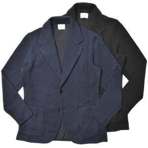 Finjack(フィンジャック)カシミアポリエステルソリッド2Bニットジャケット MONOPETTO/ART08 16002005161|guji