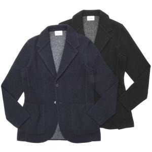 Finjack(フィンジャック)アルパカナイロンソリッド2Bニットジャケット MONOPETTO/1905 16092005161|guji
