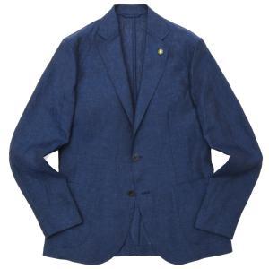 Giannetto(ジャンネット)コットンリネンシャンブレーソリッド2Bシャツジャケット 844CORA 17001001109|guji
