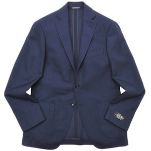 Belvest(ベルベスト)ウールホップサックソリッド3Bジャケット JACKET IN THE BOX G10647/01900-158 17001202020|guji