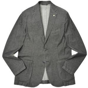 Giannetto(ジャンネット)ストレッチコットンシャンブレー2Bシャツジャケット CORALLO/AC346 17011003109 guji