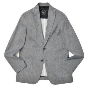 T-JACKET(ティージャケット)リネンコットンストレッチライトデニム2Bジャケット 42610001 17015002065 guji