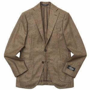 Belvest(ベルベスト)カシミアライトツィードグレンチェック3Bジャケット NEW JACKET IN THE BOX G10647/22354-028 17092200020 guji