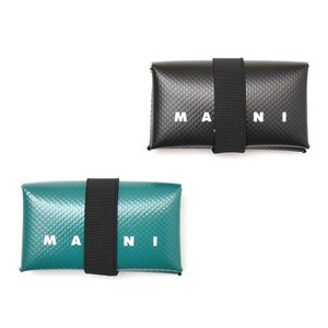 MARNI(マルニ)ポリエステルロゴコンパクトウォレット PFMI0007U1 19001400138|guji