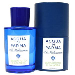 ACQUA DI PARMA(アクア ディ パルマ)オードトワレ Blu Mediterraneo/BERGAMOTTO di CALABRIA/75ml 19092001143|guji