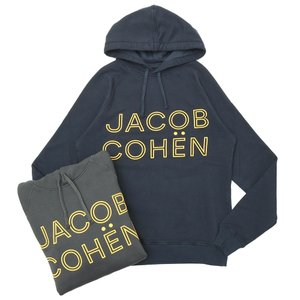 JACOB COHEN(ヤコブコーエン)J4082 コットンロゴスウェットパーカー 86118/1681-S 52096002052|guji