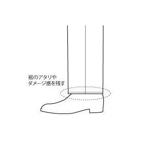PANTS裾 貼り付け仕上げ|guji
