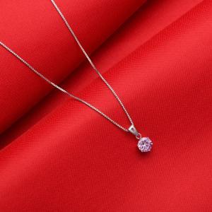 ネックレス レディース/大粒0.8カラット ネックレス/プレゼント 女性 嫁 彼女 ジュエリー アクセサリー 新春 初売りセール|gulamu-jewelry|10
