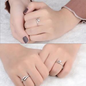 指輪 フリーサイズ/一粒 リング 指輪/レディース/ピンキーリング/プラチナ仕上げ/シルバー クリスマス プレゼント 女性 アクセサリー ジュエリー|gulamu-jewelry|11