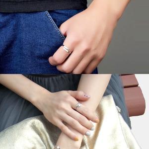 指輪 フリーサイズ/一粒 リング 指輪/レディース/ピンキーリング/プラチナ仕上げ/シルバー クリスマス プレゼント 女性 アクセサリー ジュエリー|gulamu-jewelry|12